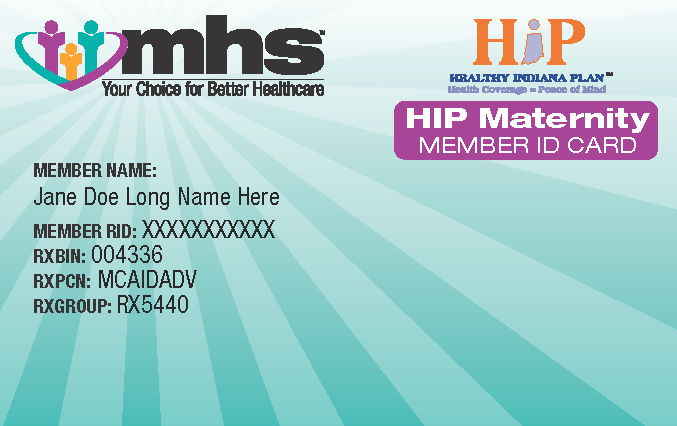 Hip ID card front